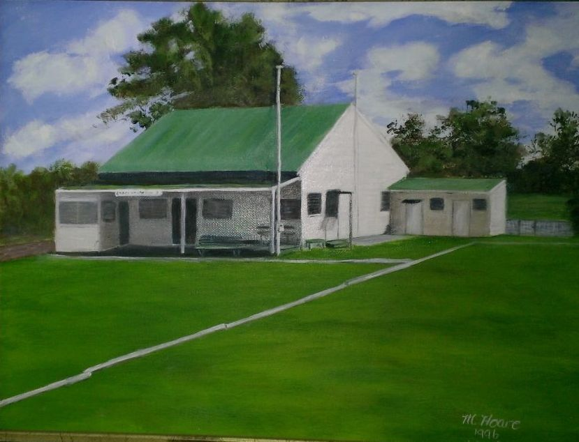 Old Shepparton clubhouse